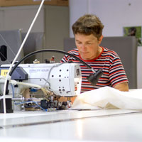 To processing technique manufacture / industrial sewing shop